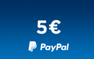 PayPal 5€ (US)