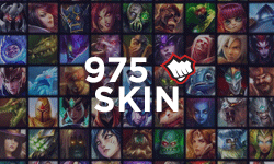 975 RP Skin of your choice - League of Legends
