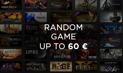 Random game up to 60 EUR (PC)