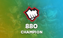 880 RP - Champion of your choice