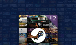 $2 Steam Gift Card