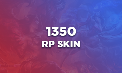 1350 RP Skin of your choice - League of Legends